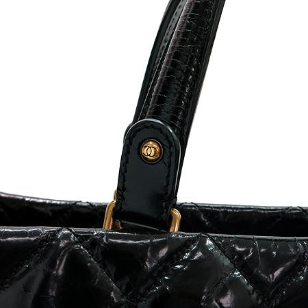 Chanel(샤넬) 2.55 빈티지 블랙 레더 2WAY [압구정매장] 이미지4 - 고이비토 중고명품