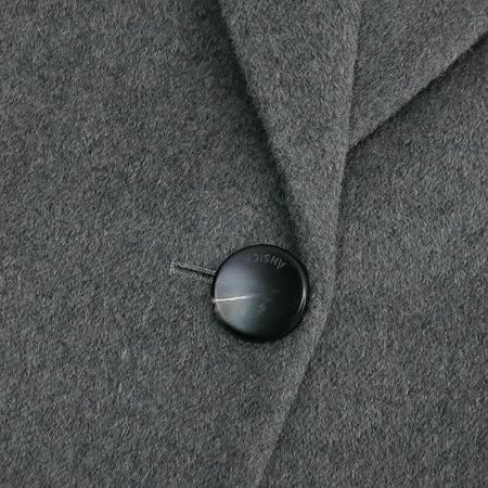 ANSICH(안지크) 그레이컬러 앙고라혼방 코트
