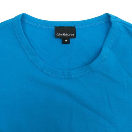 Calvin Klein(캘빈클라인) 블루컬러 반팔티 이미지2 - 고이비토 중고명품