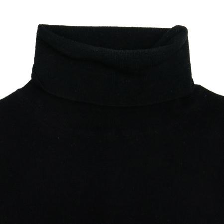 KUHO(구호) 블랙컬러 폴라 반팔 니트