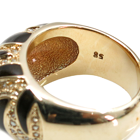 Swarovski(스와로브스키) 호피 문양 크리스탈 반지