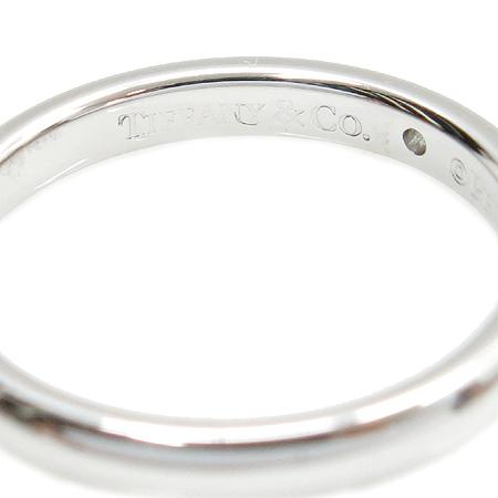 Tiffany(티파니) PT950(플레티늄) 엘사퍼레티 1포인트 다이아 반지