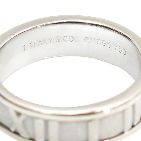 Tiffany(티파니) 18K 화이트 골드 3포인트 다이아 아틀라스 반지