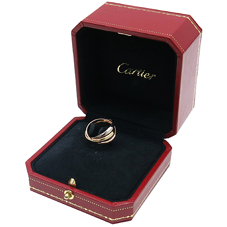 Cartier(까르띠에) B4086150 18K(750) 삼색 골드 트리니티 반지(슬림 사이즈)[부천 현대점] 이미지2 - 고이비토 중고명품