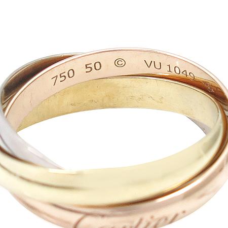 Cartier(까르띠에) B4086150 18K(750) 삼색 골드 트리니티 반지(슬림 사이즈)[부천 현대점] 이미지5 - 고이비토 중고명품