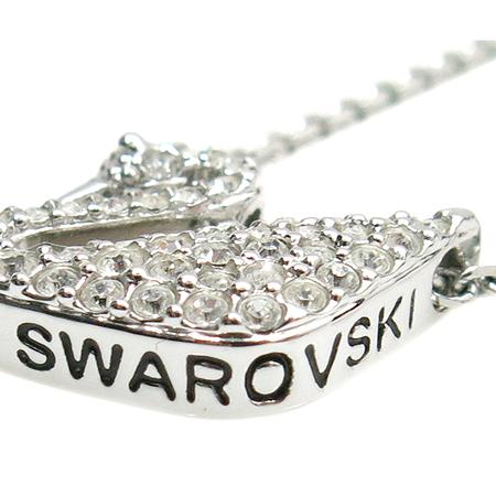 Swarovski(스와로브스키) 1802295 스완 장식 목걸이