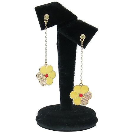 Swarovski(스와로브스키) 플라워 장식 귀걸이