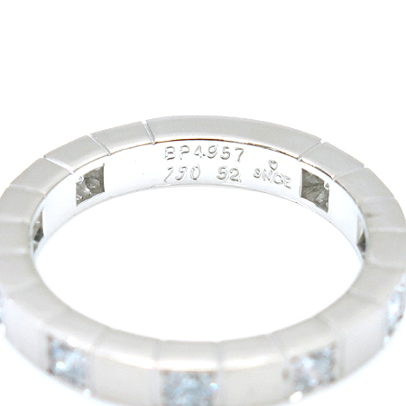 Cartier(까르띠에) B4048456 9P 다이아 18K 화이트 골드 라니에르 반지 - 12호