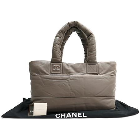 Chanel(샤넬) 그레이 컬러 램스킨 코쿤 숄더백