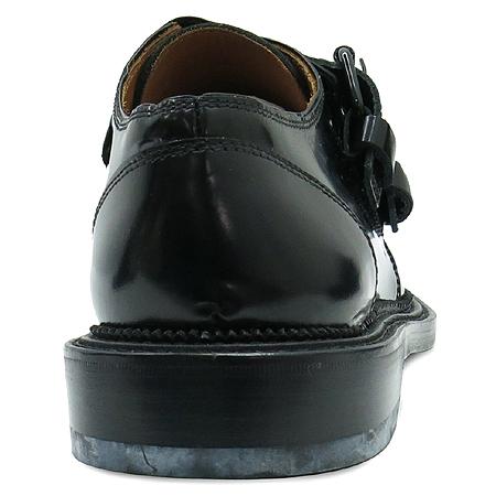 GIVENCHY(지방시) G2112 블랙 컬러 레더 버클 장식 남성용 구두 이미지5 - 고이비토 중고명품