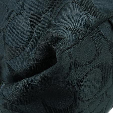 Coach(코치) 15510 은장 로고 장식 블랙 컬러 여성용 숄더백