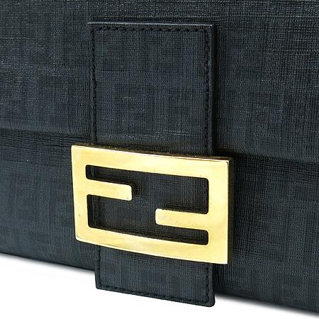 Fendi(펜디) 8BR001 골드 메탈 버클 FF 로고 PVC 맘마 체인 숄더백