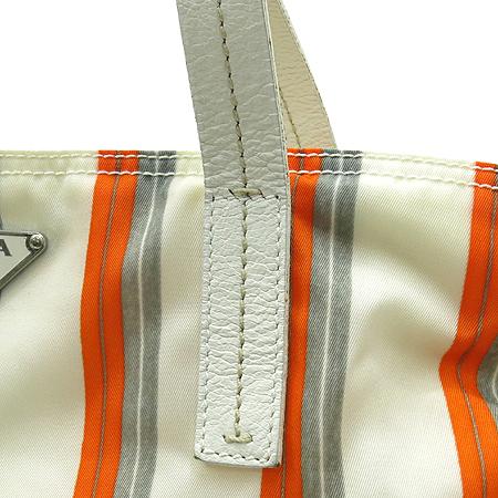 Prada(프라다) BR1536 삼각 로고 장식 패브릭 숄더백