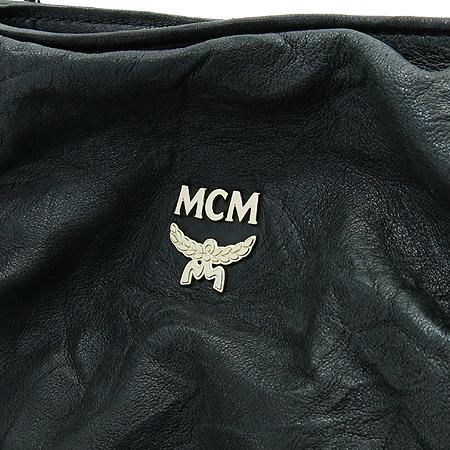 MCM(엠씨엠) MWP1SXL07BK001 블랙 레더 라피네 체인 숄더백