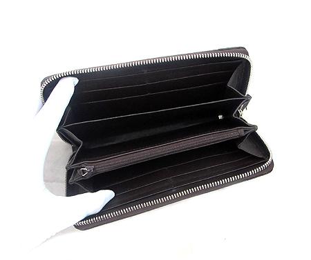 Gucci(구찌) 307993 브라운 레더 짚업 장지갑