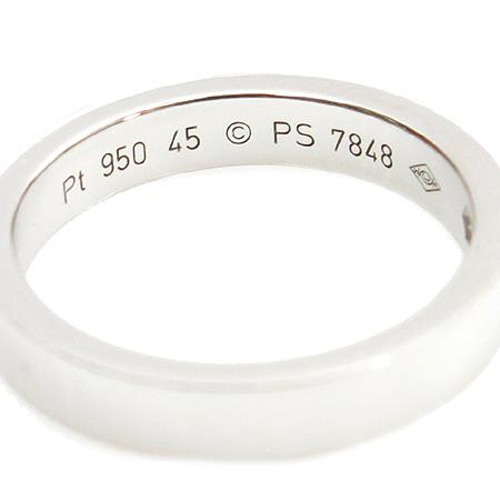 Cartier(까르띠에) PT950 (플래티늄) 1포인트 다이아 웨딩 반지 - 5호