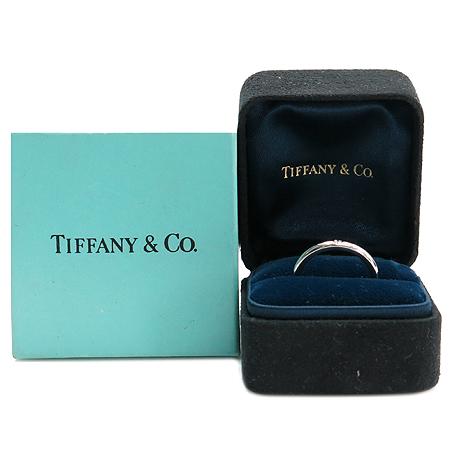 Tiffany(티파니) PT950(플래티늄) 1포인트 다이아 엘사페레티 반지-10.5호 [명동매장]