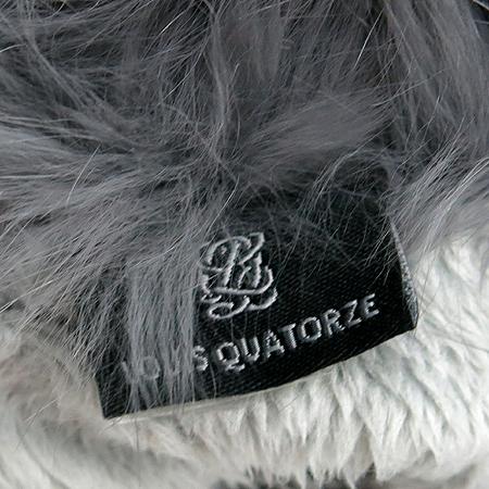 Louis_Quatorze(루이까또즈) 로즈 메탈 로고 양가죽 여성 장갑
