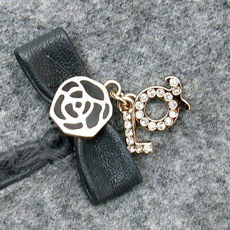 Louis_Quatorze(루이까또즈) 로즈 메탈 로고 양가죽 여성 장갑 이미지5 - 고이비토 중고명품