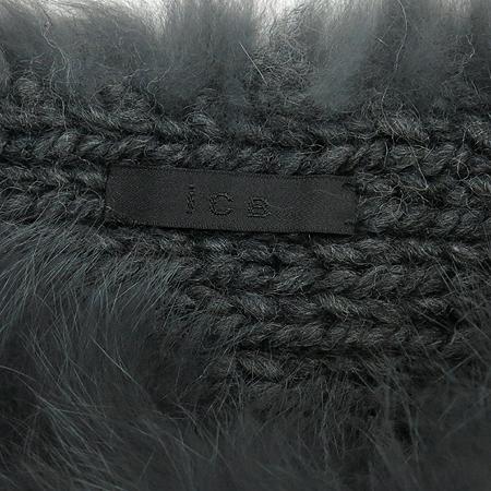 ICB(아이씨비) 100% 여우털 울 혼방 퍼