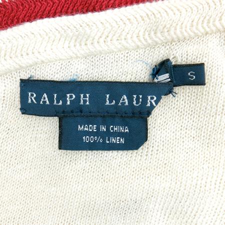Polo Ralphlauren(폴로) 베이지 컬러 홀터넥 탑 나시