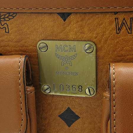 MCM(엠씨엠) 1011055300122 투포켓 플랩 장식 비세토스 토트백