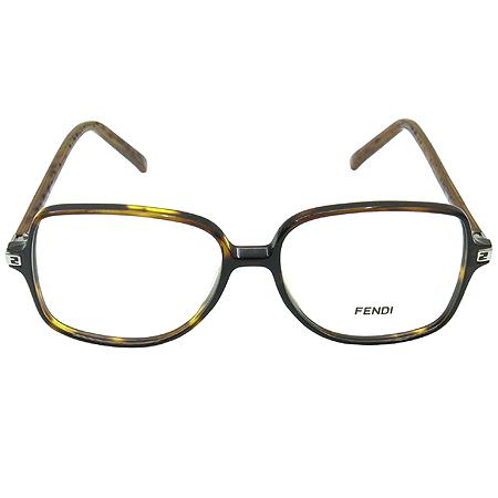 Fendi(펜디) F858 호피 뿔테 안경테