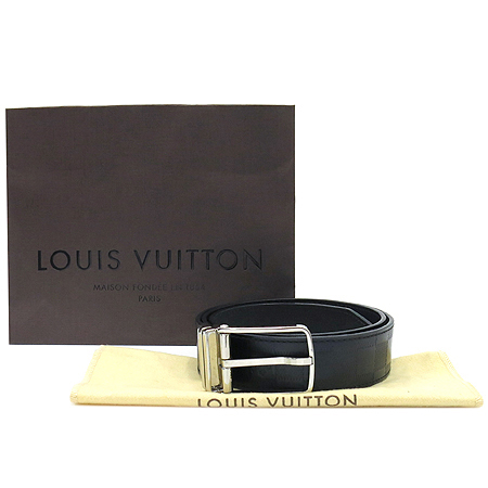 Louis Vuitton(루이비통) M9674S 보스톤 리버서블 글레이즈드 송아지 가죽 남성용 벨트[부천 현대점]