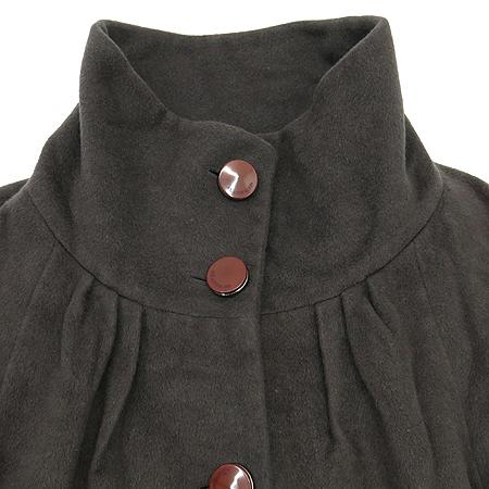 ANNE KLEIN(앤클라인) 그레이컬러 밍크,실크혼방 코트
