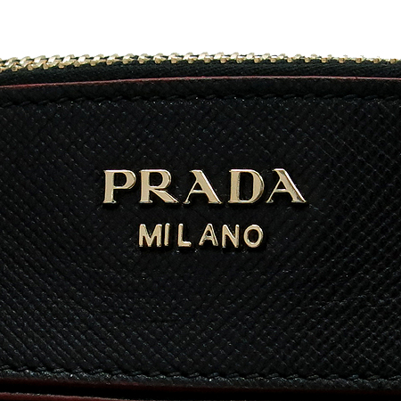 Prada(프라다) BN2598 CITY CALF SAFFIANO(소가죽) 배색 토트백 + 숄더스트랩 [동대문점]