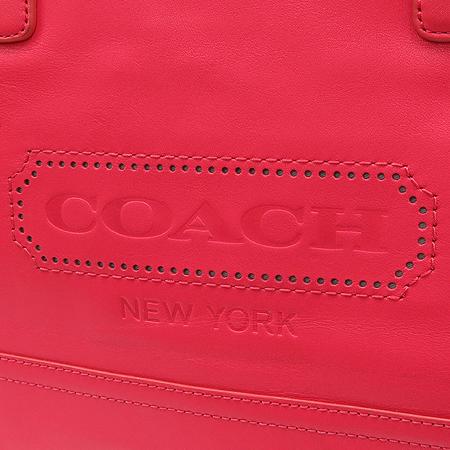 Coach(코치) 23469 코치 위켄드 컬러블럭 미듐 짚 쇼퍼 숄더백