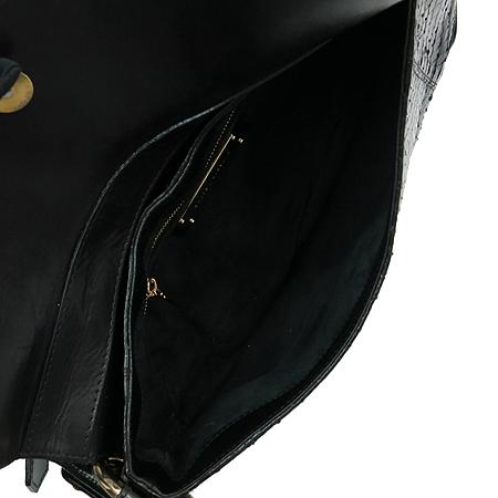 D&G(돌체&가바나) 블랙레더 PYTHON(파이톤) 금장로고 D링 숄더백 [인천점]