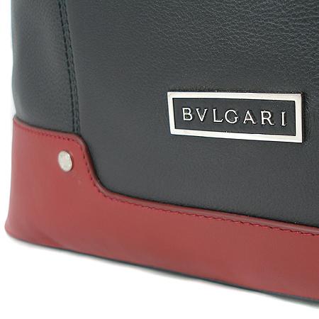 Bvlgari(불가리) 34058 블랙 레더 메신저백 남성용 2WAY