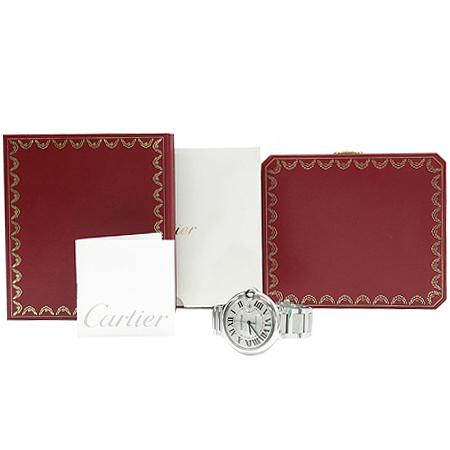 Cartier(까르띠에)  W69012Z4 발롱블루 드 까르띠에 오토매틱 42MM 스틸밴드 남성용 시계