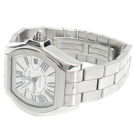 Cartier(까르띠에) W6206017 ROADSTER (로드스터) 스틸 오토매틱 남성용 시계