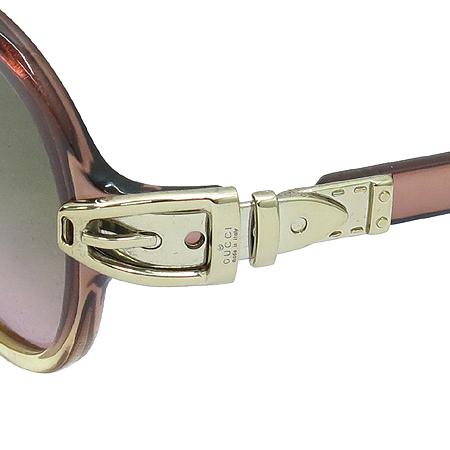 Gucci(구찌) GG2911 측면 금장 벨트 장식 뿔테 선글라스