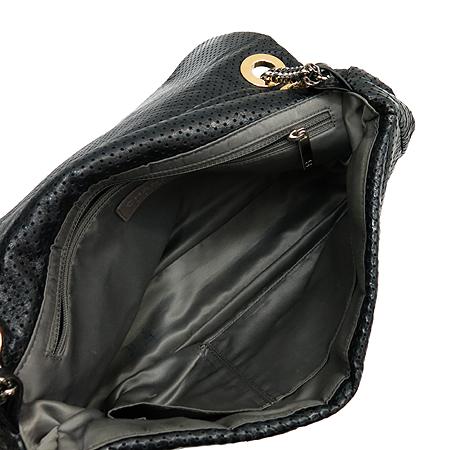 Chanel(샤넬) A37560Y04847 블랙 퍼포 램스킨 2.55 실버 메탈 체인 숄더백