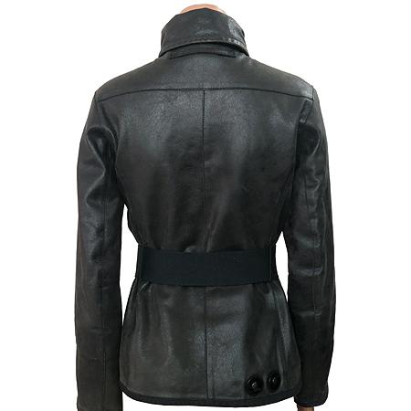 Prada(프라다) 블랙컬러 가죽 자켓 (벨트set) [부산센텀본점] 이미지2 - 고이비토 중고명품