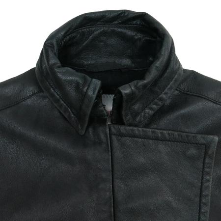 Prada(프라다) 블랙컬러 가죽 자켓 (벨트set) [부산센텀본점] 이미지3 - 고이비토 중고명품
