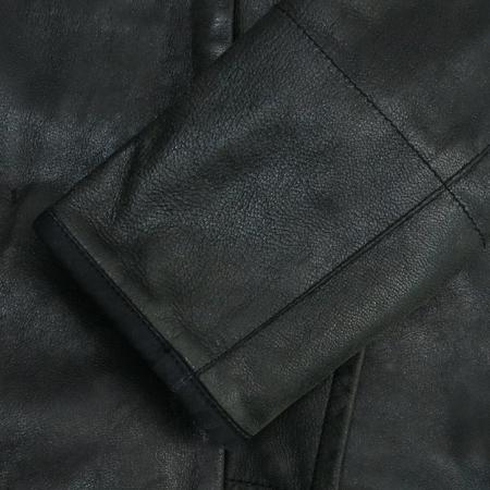Prada(프라다) 블랙컬러 가죽 자켓 (벨트set) [부산센텀본점]