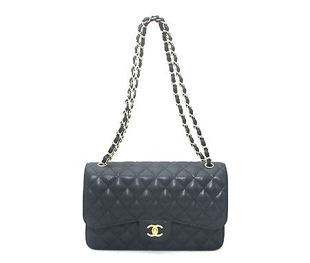 Chanel(샤넬) A28600Y01588 캐비어스킨 클래식 점보 사이즈 금장 체인 숄더백 [분당매장] 이미지2 - 고이비토 중고명품
