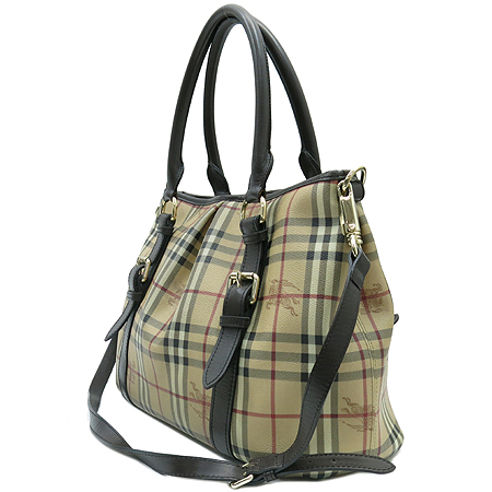 Burberry(������) HBM347 PVC ���̸��� üũ NORTHFIELD(�뽺�ʵ�) �� ������ 2WAY [���빮��]