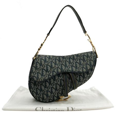 Dior(크리스챤디올) 로고 자가드 새들 숄더백
