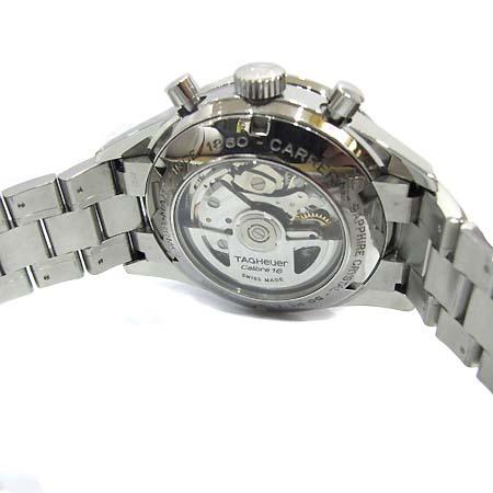 Tag Heuer(태그호이어) CV2016 CARRERA (카레라/까레라) 크로노그래프 오토매틱 시스루백 스틸 남성용 시계 [부천 현대점]