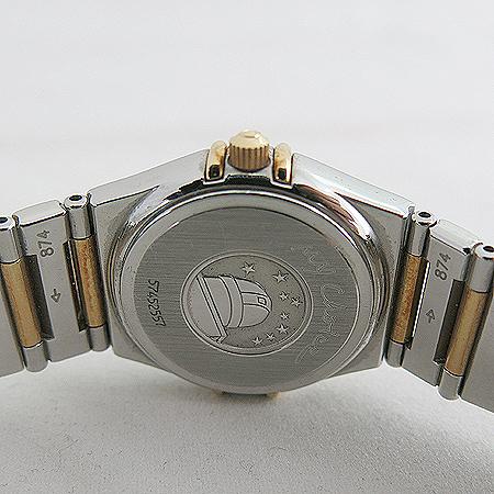Omega(오메가) 1376 75 자개판 베젤 다이아 18K 콤비 컨스틸레이션 마이초이스 여성용 시계 [일산매장]