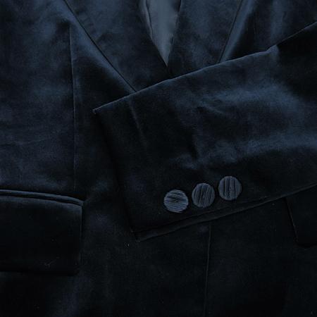 ANSICH(안지크) 다크네이비컬러 벨벳 자켓