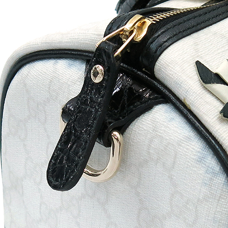 Gucci(구찌) 197395 한정판 플라워 장식 GG로고 PVC 보스톤 토트백