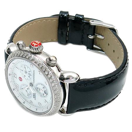 MICHELE WATCH(미쉘워치) 71 3600 CSX  베젤 다이아  자개판 크로노그래프 남여 공용 시계