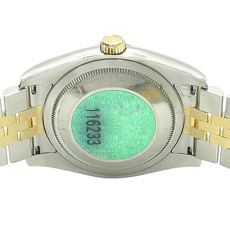 Rolex(�η���) 116233 18K �� 10P ���̾� DATEJUST(����Ʈ��Ʈ) ������ �ð�