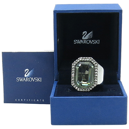 Swarovski(스와로브스키) 큐빅 장식 반지 - 15호